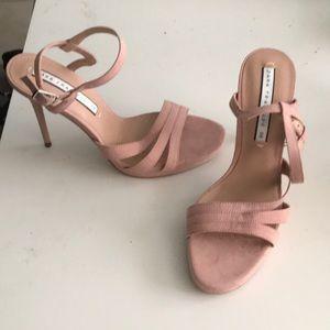 Pink Zara stilettos! - never worn